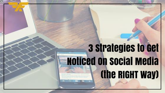 get notice on social media